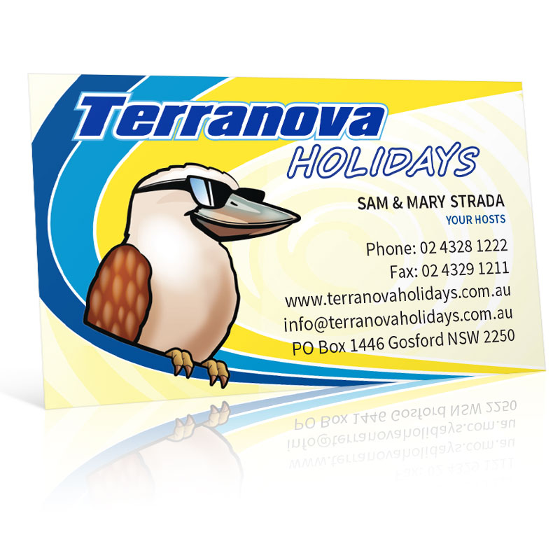 Terranova Holidays Business Card